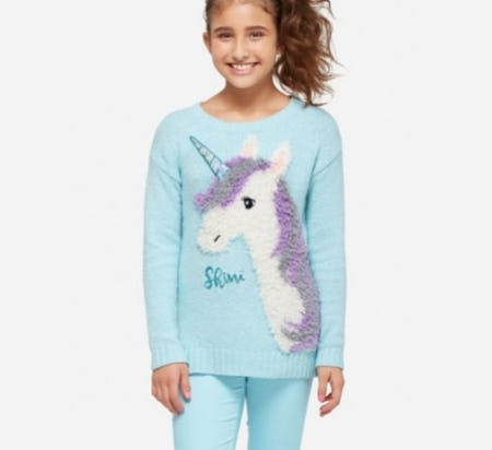 Unicorn Critter Sweater