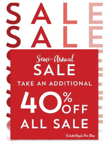 Additional 40% Off All Sale from Altar'd State