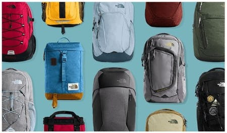 So Many Backpacks from The North Face