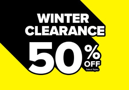 Winter Clearance 50% Off from Rainbow
