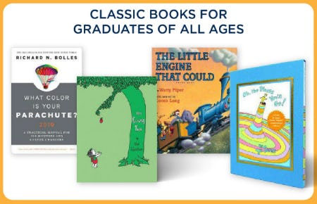 Classic Books for Graduates of All Ages from Books-A-Million