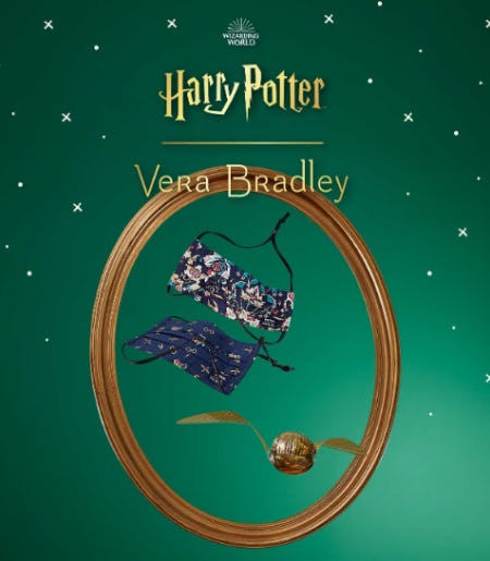 Harry Potter Pleated Mask 2 Pack from Vera Bradley