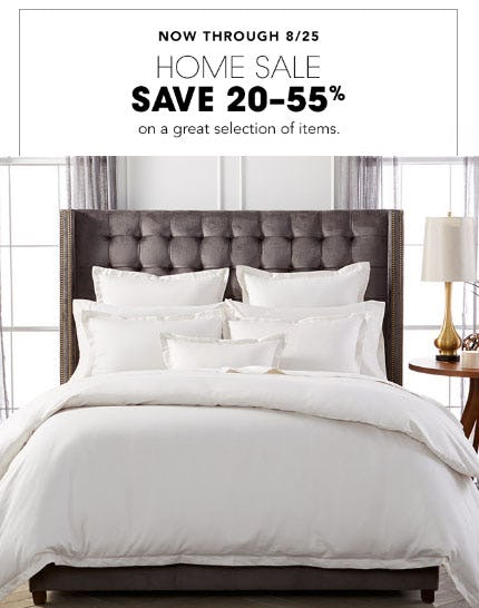 20-55% Off Home Sale from Bloomingdale's