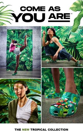 The New Tropical Collection from Crocs