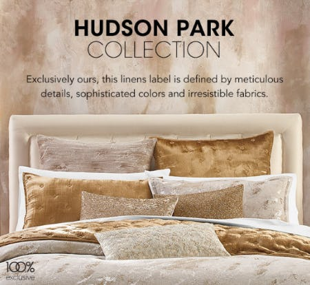 Hudson Park Collection from Bloomingdale's