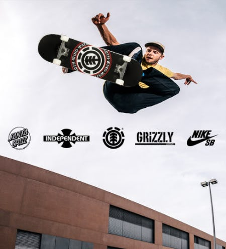 New In: Skate Apparel & Skateboards from Tillys