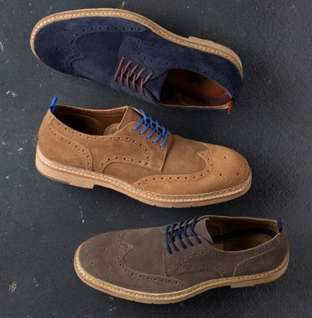 Made in the Suede from JOHNSTON & MURPHY