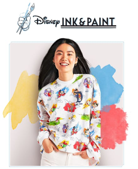 Introducing the Disney Ink & Paint Collection from Disney Store