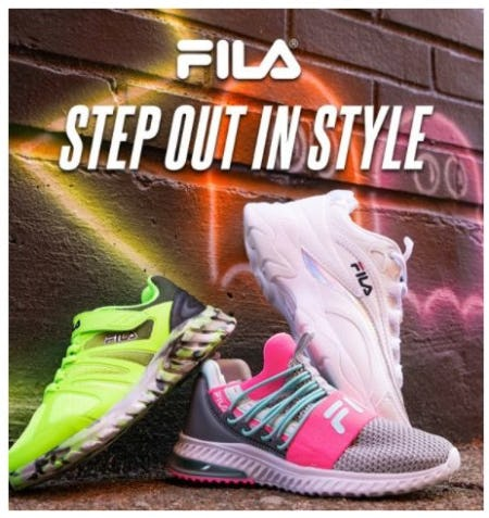New Arrivals from Fila from Shoe Carnival