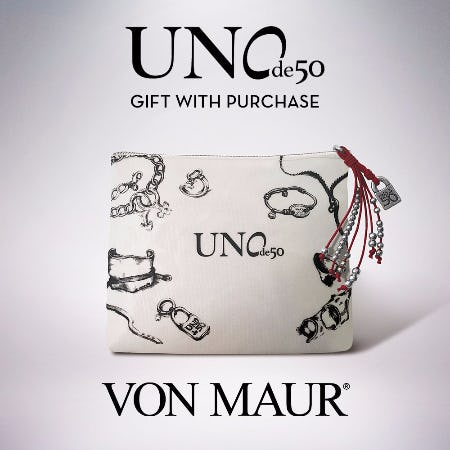 Uno de 50 Gift With Purchase from Von Maur
