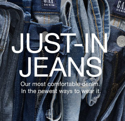 Just-In Jeans from Gap