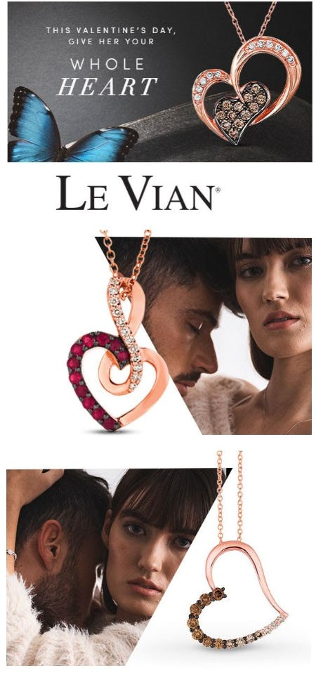 Gift Her Sentimental Le Vian Jewelry from Jared Galleria of Jewelry