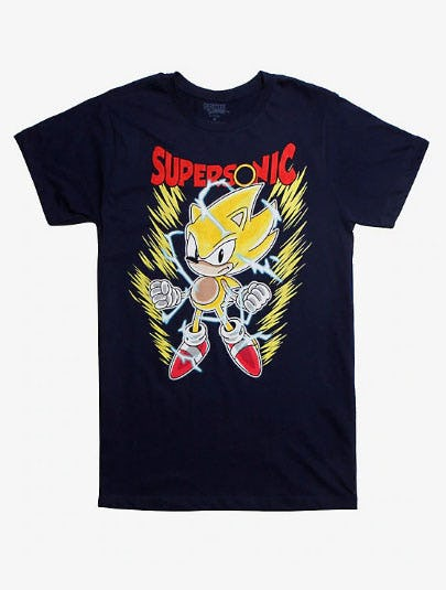 Sonic The Hedgehog Supersonic T-Shirt from Hot Topic