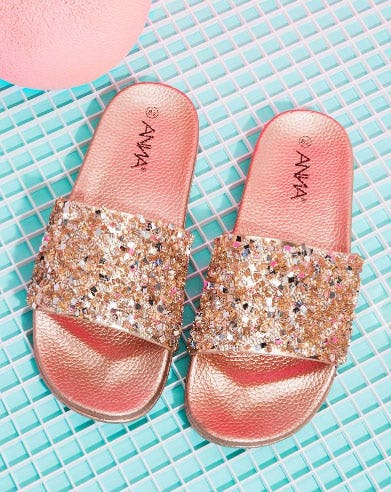 Crystals To Myself Sandal from A'gaci