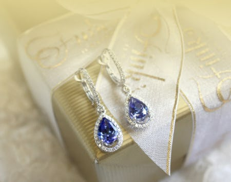 Celebrate December with Brilliant Shades of Blue from Fink's Jewelers