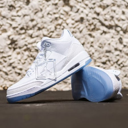 "The Air Jordan 3 ""Triple White"" from City Gear"