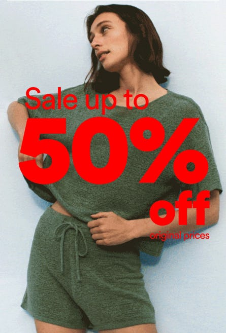 Up to 50% Off Sale from Cotton On
