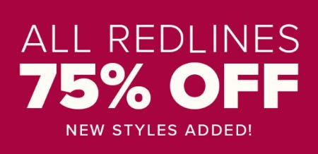 All Redlines 75% Off from Woodlands Anc Acq/New York & Co