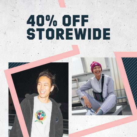 Save 40% at adidas stores from Adidas