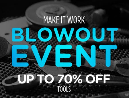 Up to 70% Off Tools
