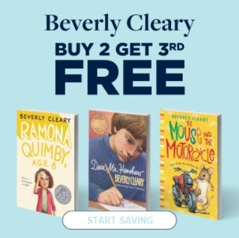 Buy 2 Get 3rd Free Beverly Cleary from Books-A-Million