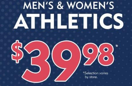 Men's & Women's Athletics $39.98