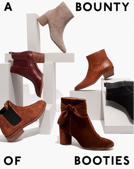 A Bounty of Booties from Madewell