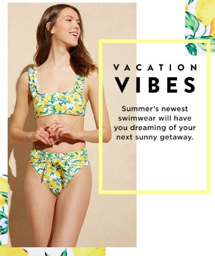 New Swimwear for Summer Travels from Saks Fifth Avenue