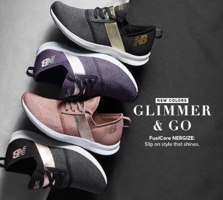Glimmer & Go from New Balance