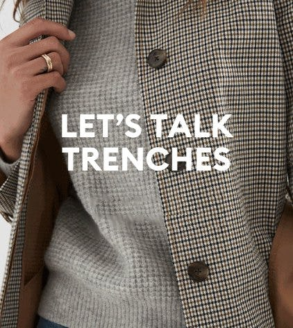 Spring Forward In Your Favorite Trench from Banana Republic