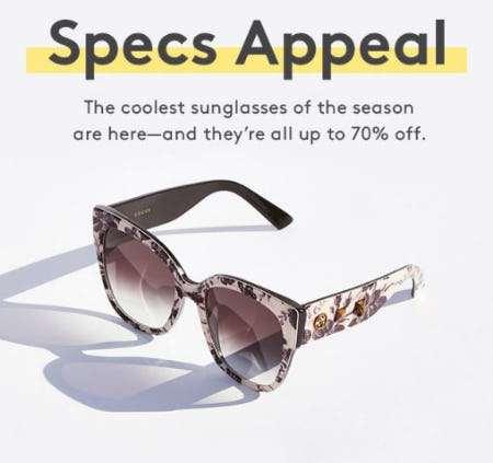 Up to 70% Off Sunglasses from Nordstrom Rack