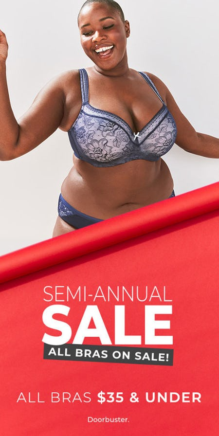 Semi-Annual Sale: All Bras $35 and Under from Lane Bryant