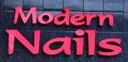 Modern Nails Logo