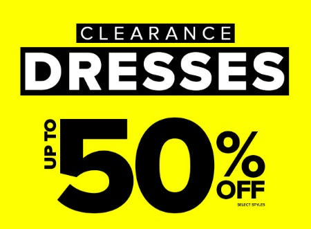 Up to 50% Off Clearance Dresses