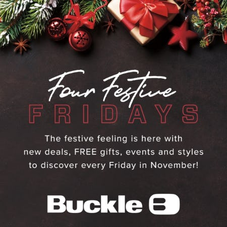 Festive Fridays Are Here from Buckle