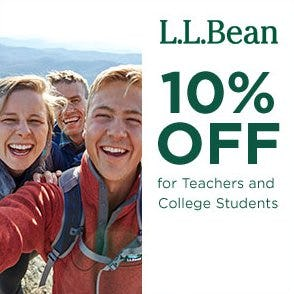 10% OFF YOUR PURCHASE from L.L. Bean