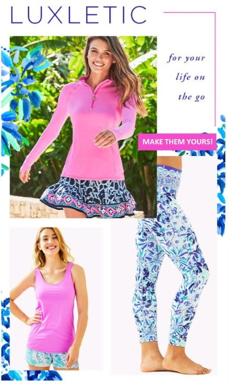 Lilly Luxletic from Lilly Pulitzer