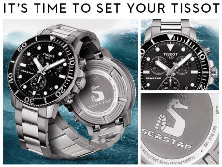 Tissot Seastar 1000 Chronograph from Jared Galleria Of Jewelry