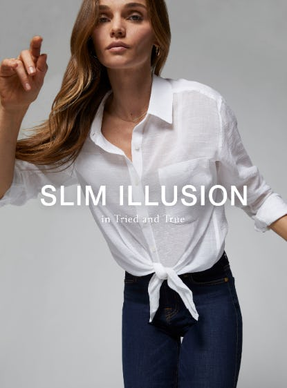 Slim Illusion in Tried and True from 7 for All Mankind