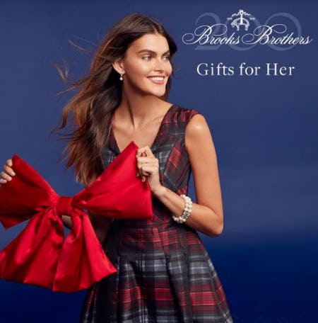 Gifts for Her from Brooks Brothers
