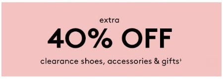 Extra 40% Off Clearance Shoes, Accessories & Gifts from David's Bridal