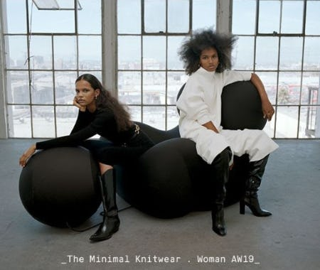 New Woman Collection: The Minimal Knitwear