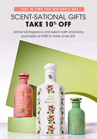 Scent-Sational Gifts Take 10% Off from Bloomingdale's