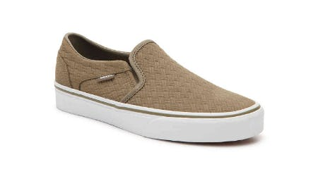 02a3a787a04cf4 Vans Asher Slip-On Sneaker at DSW Shoes