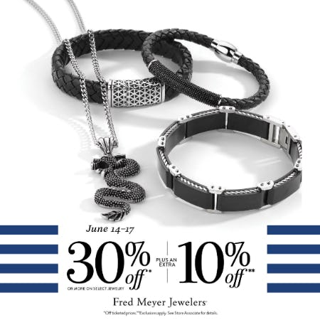 Summer Sale from Fred Meyer Jewelers