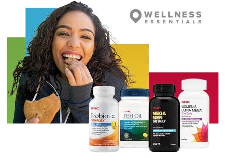 Industry-Best Vitamins and More from GNC
