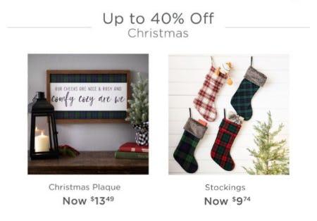 Up To 40 Off Christmas At Kirkland S Home Oglethorpe Mall