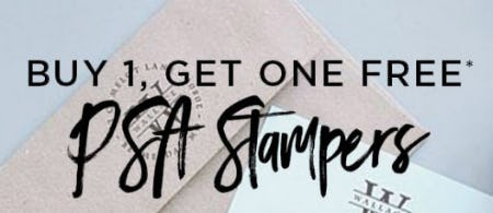 BOGO Free PSA Stampers from PAPYRUS