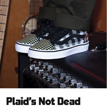 Plaid's Not Dead