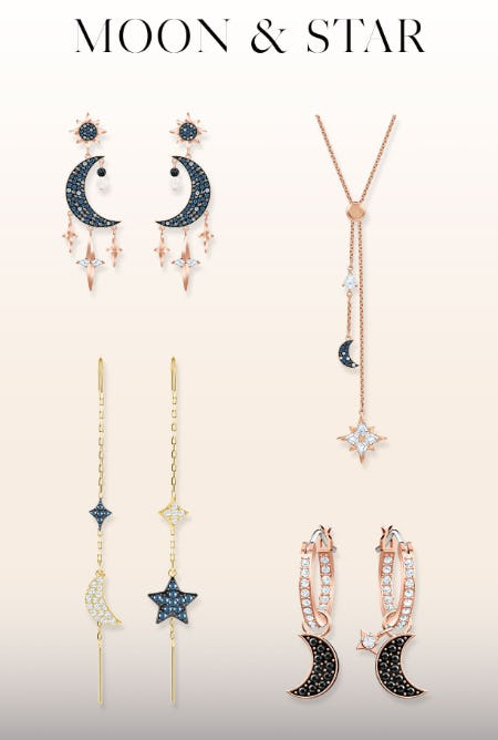 Sparkling Celestial Pieces from Swarovski